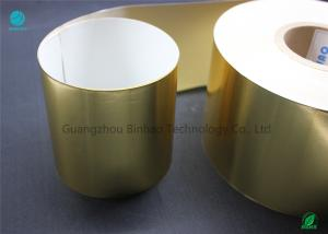 China Shiny Gold Transfer Aluminium Foil Paper In Eco Friendly Materials 65gsm on sale