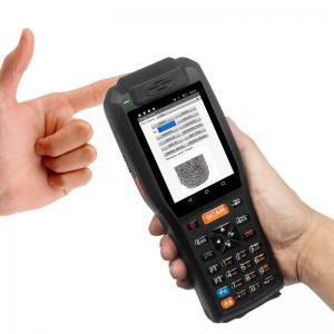 China 4GB Industrial Barcode Scanner 7.4V 3400mAH Lithium Battery With Thermal Printer on sale