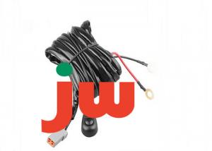China Off Road LED Light Bar Wiring Harness , ATP Male Plug Car Wiring Harness on sale