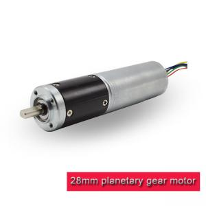 China 28PA2847 Mini Planetary Gearbox , DC Brushless Planetary Gear Motor 24v 12v on sale