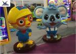 Decorative Life Size Cute Cartoon Lifelike Fiberglass Statues For Amusement  Park