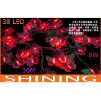 China Holiday 38pcs 10m RGB LED String Lights , Indoor Lighting Fixture on sale