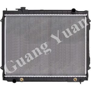 China High Heat Transfer Aluminum Auto Radiators Anti Corrosion OEM 16410-0C022 DPI 1778 on sale
