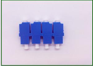 China Simplex LC APC UPA  Optic Fiber Adapter / Fiber Optic Plug For FTTH / FTTX on sale