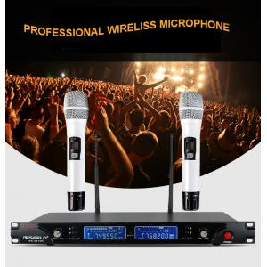 China Automatic frequency professional wireless microphone SE-2013R, high quality PLL wireless collar micorphone for singing on sale