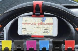 China 2017 Car Steering Wheel Mount Holder Rubber Band For iPhone For iPod MP4 GPS Mobile Phone Holders Car-styling on sale