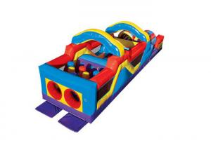 China Children'S Inflatable Bounce House , Running Inflatable Play Center Toddler Playground on sale