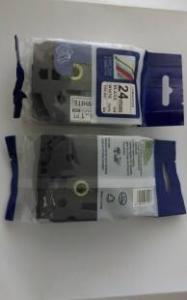 China PUTY 24mm Black on White TZ251 TZe251 TZe 251 TZe-251 Label Brother Tapes Compatible for P-touch Typewriter on sale