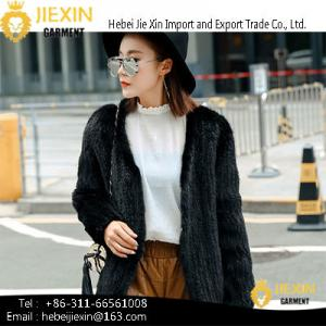 China New Arrivel Discount Ladies Mink Fur Coat Women Jacket on sale