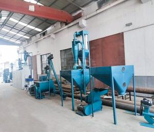 China Complete Floating Fish Feed Production Line Fish Feed Extruder CE Approval on sale