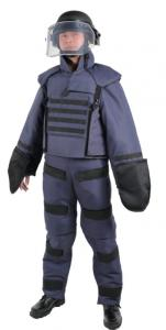 China Protective Bomb Disposal Equipment Comfortable Search Suit High Mobility Degree on sale