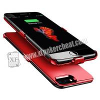 Mini Iphone Case Camera Bar Code Marked Playing Card Scanner For Omaha Poker Game