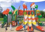 Funny Amusement Outdoor Playground Equipment 1350*1210*500cm Zone Size