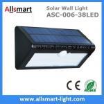38LED 550 do triângulo solar da luz do sensor da luz PIR da parede do sensor de movimento dos lúmens 7W fornecedor solar de Manufaturer do chinês das luzes