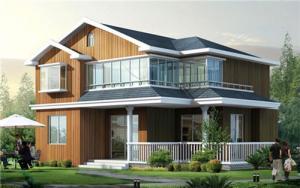 China Light Steel Private Villa on sale