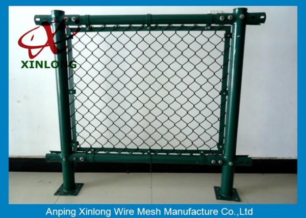 Anti-Corossion Diamond 3.0mm Wire Mesh Fence Hot Dipped Galvanized ...