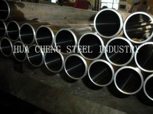 China 3mm - 50mm Hydraulic Cylinder Pipe , EN10305-4 E215 E235 Thick Wall Steel Tube on sale