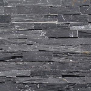 China Black Slate Rough Cultural Stone on sale