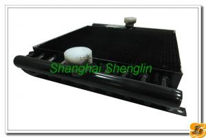 China Customerized Aluminum Tube Heat Exchanger, 0.2~3.1MPa Work Pressure, Epoxy Coated on sale