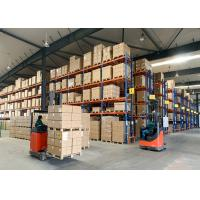 China Metal Heavy Duty Pallet Racks Systems for Warehouse Storage Solutions on sale