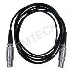 Length 2m LEMO 1 To LEMO-1 Flaw Detector UT Cable