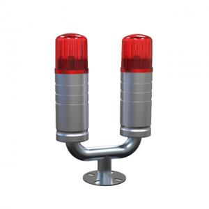 China Mast Buidling 45 meters Red Low intensity double obstruction lights according to the icao standard for the tower area on sale