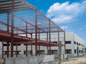 China Portal Frame Prefabricated Light Steel Structure Building on sale