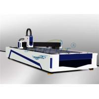 500-3000W CNC Fiber Laser Cutting Machine , Fiber Metal Laser Cutting Machine