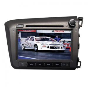 China 8 inch car dvd gps HONDA NEW CIVIC SIDE2012(right) Factory direct Bluetooth-Enabled on sale