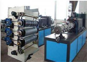 China Línea plástica de la protuberancia de la hoja del PVC, cadena de producción de la hoja del PVC de Polyrethane on sale