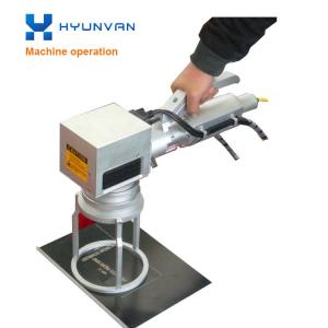China Computerized Laser Etching Marking Machine Handheld Laser Marker 20W / 30W / 50W on sale