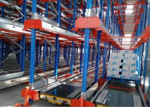 China High Load Capacity Pallet Rack Storage Systems For Food Warehouse Storage on sale