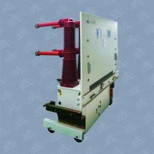 Quality Indoor Solid - Closure High Voltage Vacuum Circuit Breaker 40.5kv Handcart - for sale