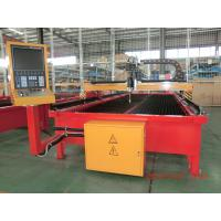 Hydraulic Flame / Plasma Cutting Machines Gantry Type For Metal Sheet 6000 x 12000