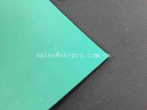 China Dull / Shiny Surface ESD Rubber Mats No Odor 2 Layers For ESD Protection on sale