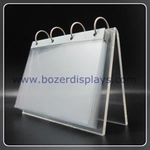 China Holder-Office Acrylic Calendar Holder for Display on sale