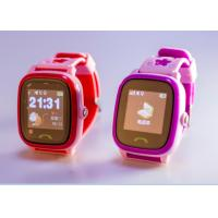 China Smart GPS Tracker Watch SOS Alarm Remote Monitoring 0.96  Display LCD For Kids on sale