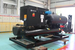 China Air Conditioner Horizontal Water Cooled Screw Chiller R134a 1166.9KW on sale