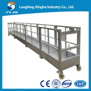 China ZLP800 Hot galvanized electric platform / the working cradle / swing stage on sale