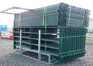 China Lightweight Safety Round Portable Cattle Pens Fully Welded Post Brackets on sale