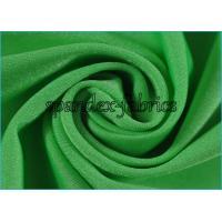 Green Shiny Nylon Lycra SpandexFabric Good Stretch Eco Friendly