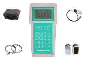 China High Accuracy Handheld Ultrasonic Flow Meter , Ultrasonic Fluid Flow Meter on sale