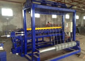 China 380v 40kw Galvanized steel Wire Mesh Machine Grassland Fence Machine on sale