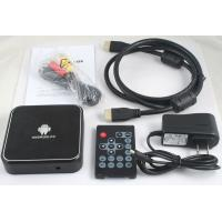 Android 2.3 1080P 720P 480P High Definition Digital Set Top Box ETV-01