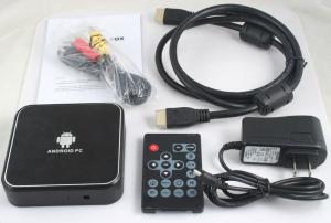 China Android 2.3 1080P 720P 480P High Definition Digital Set Top Box ETV-01 on sale