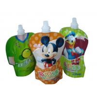 China PET / PA / PE Stand UP Pouch / spout pouch self stand up for jelly packaging with high puncture resistance on sale