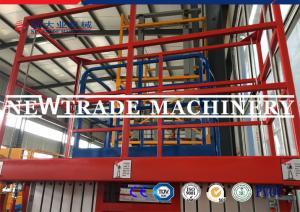 China Mobile Hydraulic Scissor Platform Lift / Electric Outdooor Aerial Platform Lift on sale