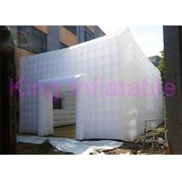Large Inflatable Cube Tent With Door For Wedding Party Or Trade Show