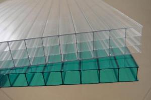 China Yidao hollow polycarbonate sheet 3 years guarantee 6mm on sale