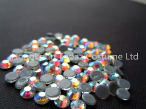 China ss20 crystal ab color stone hot fix rhinestone heat transfer strass on sale